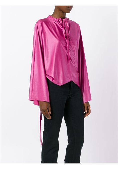 Top rosa con coulisse sul colletto BALENCIAGA | Camicie | 470665-TVK015540