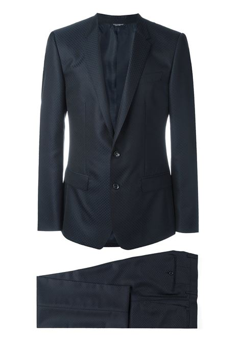 dark blue two pieces wool and silk smoking suit DOLCE & GABBANA |  | G17AMT-FJ3C7B0665