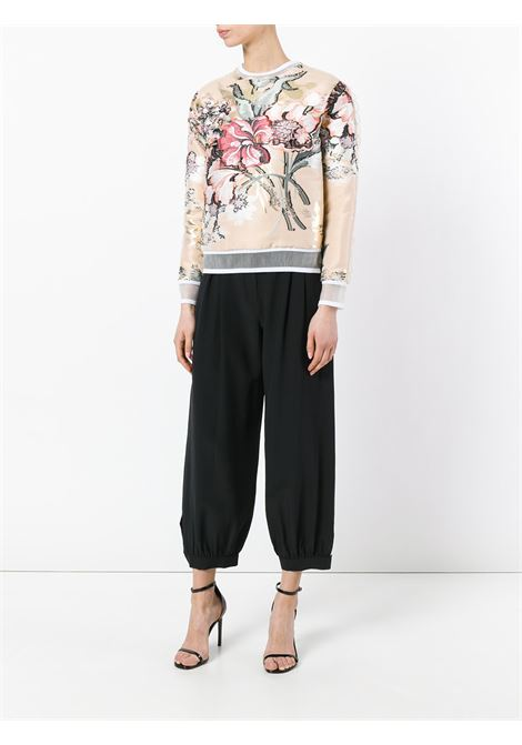 nude silk flower embroidery top FENDI |  | FS6632-9VBF08U7