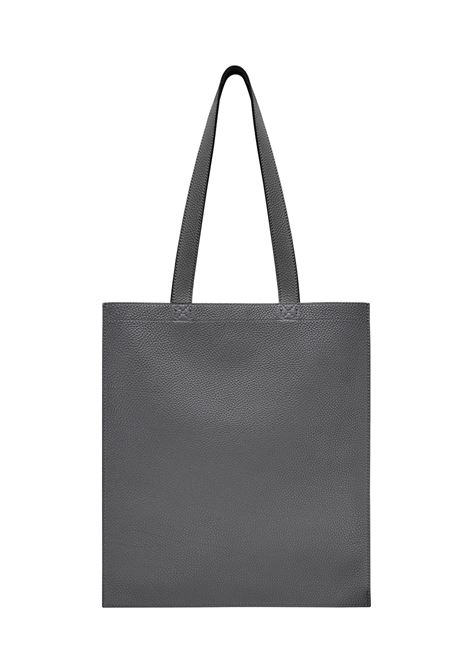 grey-calf leather shopping bag with red graffiti style Fendi Roma front logo FENDI |  | 7VA426-A1RIF0D50
