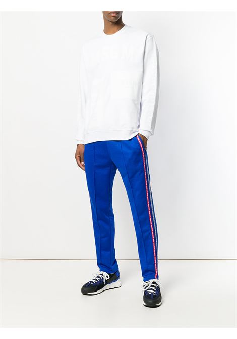 white cotton MSGM branded sweatshirt  MSGM |  | 2440MM90-18429801