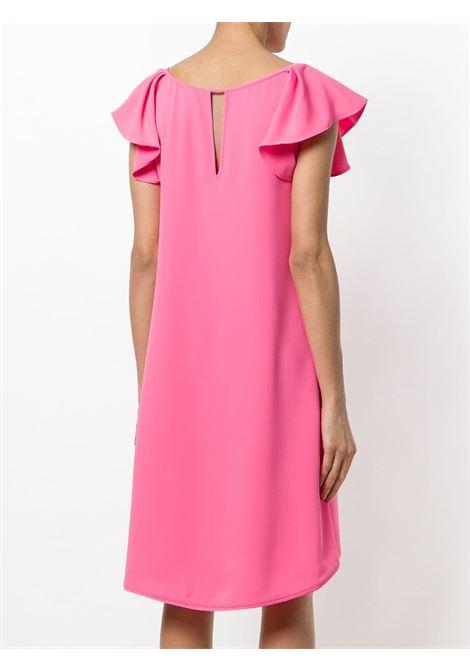 abito rosa con maniche arricciate P.A.R.O.S.H. | Abiti | D722061-PANTERY025
