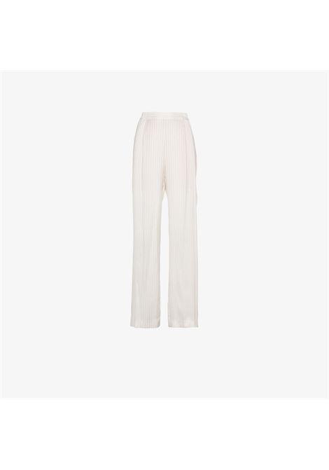 high waist jacquard silk white trousers STELLA MC CARTNEY |  | 477400-SKA119501