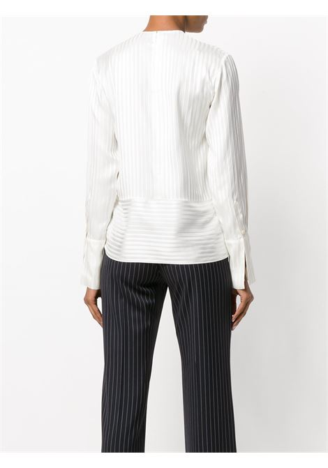 white silk long sleeves blouse with tie side detail STELLA MC CARTNEY |  | 496038-SKA119501