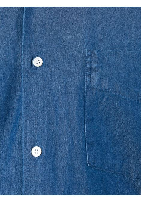 blue cotton jeans shirt featuring front pocket ALBERTO ASPESI |  | CE52-619151034