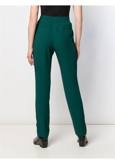 green silk elasticated trousers with size black band GIVENCHY |  | BW50B310F4311