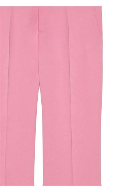 bootcut pink stretch viscose trousers fitted through the leg GUCCI |  | 558057-ZKR015183