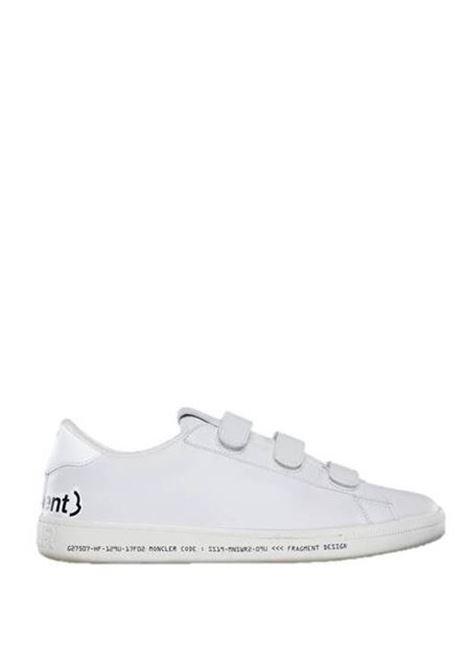 sneakers bianca Fitzroy con strappi Moncler Genius  X Fragment Design MONCLER GENIUS | Scarpa | 00400-00-01837 FITZROY001
