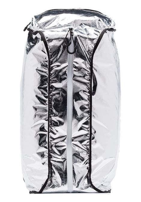 silver metallic Moncler Genius x Fragment Design backpack MONCLER GENIUS |  | 00616-00-01ADY999