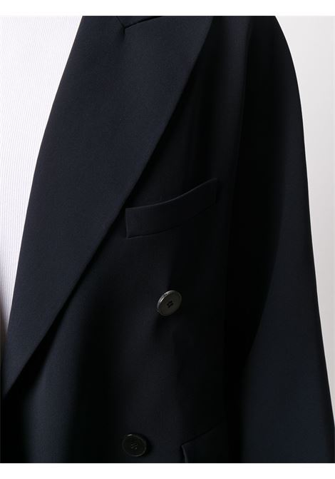 Navy fitted coat featuring a double breasted front fastening ALBERTO BIANI |  | II862-AC002880