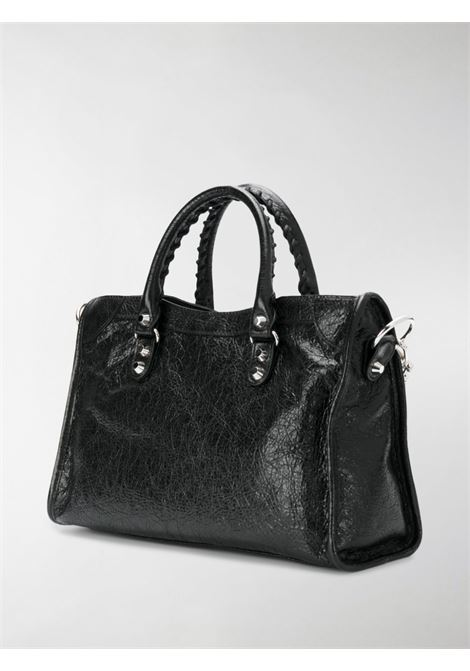 mini City black leather shoulder bag BALENCIAGA |  | 431621-D94JN1000