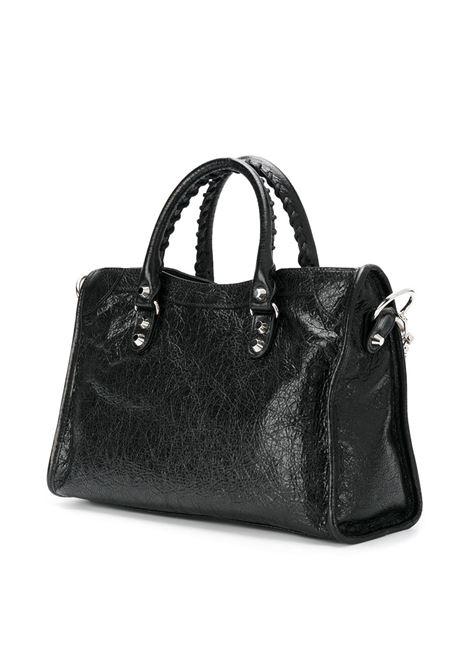 mini City black leather shoulder bag BALENCIAGA |  | 431621-D94JN1000