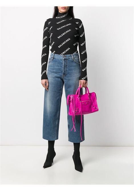 mini City black leather shoulder bag BALENCIAGA |  | 431621-D94JN5561