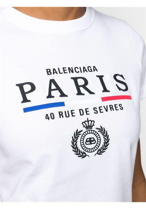 white cotton logo t.shirt BALENCIAGA |  | 578133-TGV489000