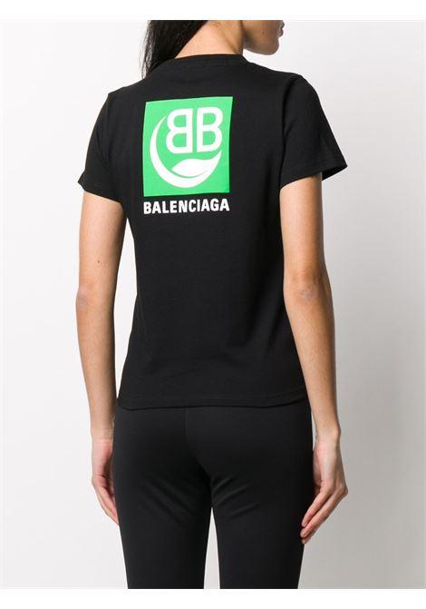 black green Balenciaga logo t.shirt BALENCIAGA |  | 578133-THV631000