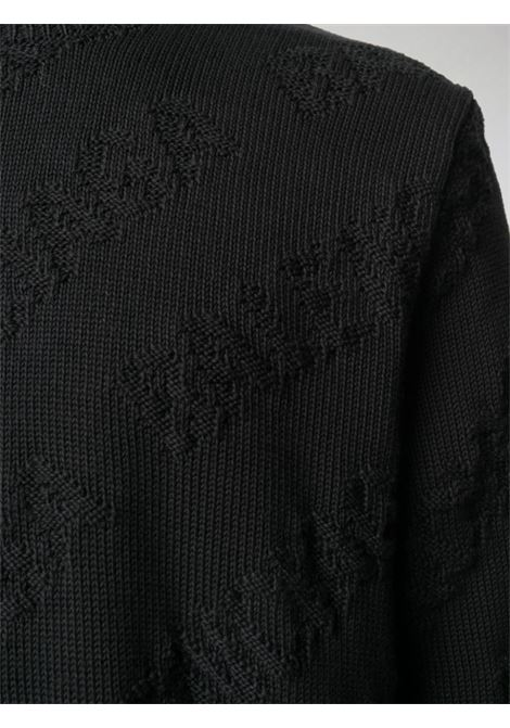 black Balenciaga logo embroidered jumper BALENCIAGA |  | 599870-T31661000