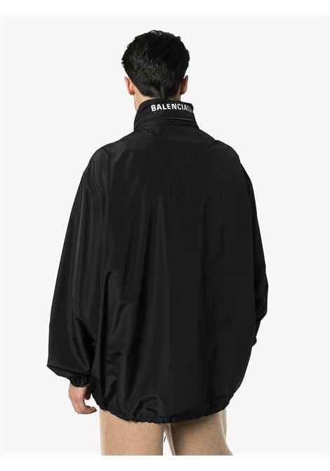 black multilogo nylon wind breaker BALENCIAGA |  | 608796-TYD361000