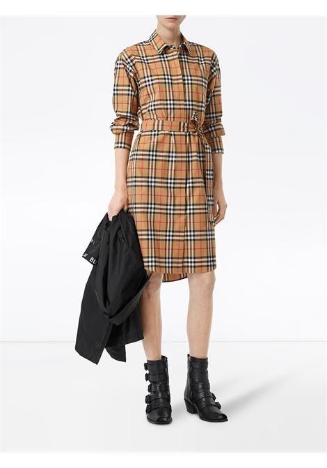 abito lungo a maniche lunghe con bottoni in vintage Burberry Check BURBERRY | Abiti | 8013946-ISOTTOA2219