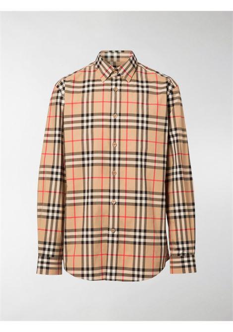 Caxtona vintage Burberry Check print long sleeves shirt BURBERRY |  | 8020863-CAXTONA7028