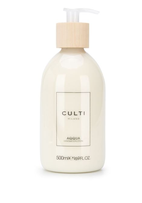 Hand and body lotion in a 500ML bottle, Aqqua fragrance CULTI |  | PC WELC. CHB 500MLAQQUA