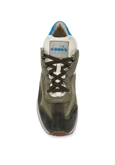 sneakers Equipe effetto vintage verde bosco DIADORA | Scarpa | 174736-EQUIPE H DIRTY SW EVO70431