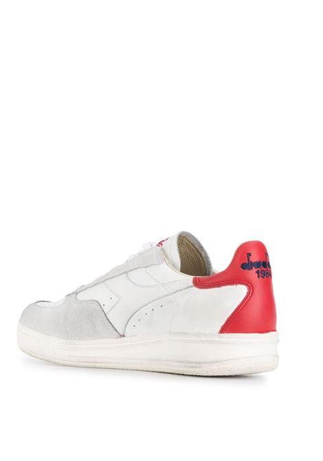 sneakers Elite bianco/rosso DIADORA | Scarpa | 174751-B.ELITE H LEATHER DIRTYC0823