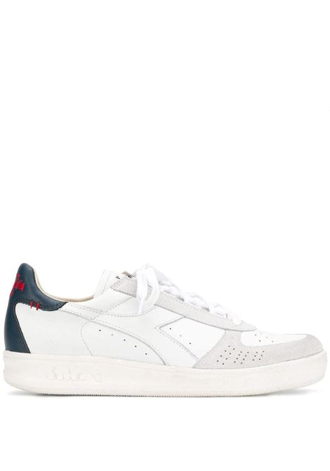 sneakers Elite bianco/rosso DIADORA | Scarpa | 174751-B.ELITE H LEATHER DIRTYC4656