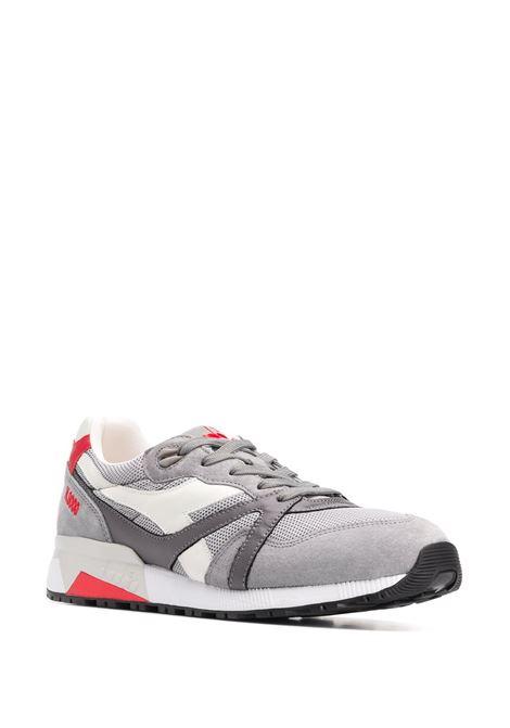sneakers grigie N9000 in nylon e camoscio DIADORA | Scarpa | 175509-N9000 H MESH ITALIA75069