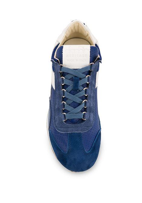 sneakers Equipe in nylon perforato e camoscio blu DIADORA | Scarpa | 176046-EQUIPE ITALIA60026