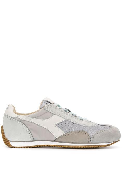 sneakers Equipe grigio chiaro in nylon perforato e camoscio DIADORA | Scarpa | 176046-EQUIPE ITALIA75043