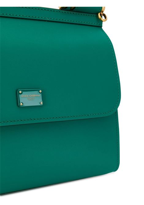 Sicily 58 calf leather emerald green tote bag DOLCE & GABBANA |  | BB6622-AV3858H544