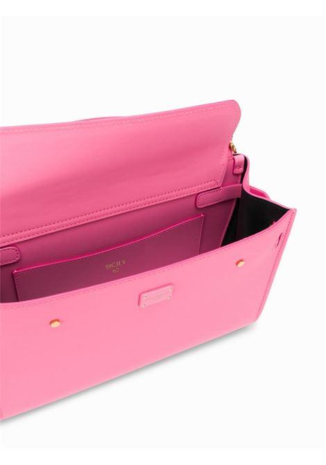 borsa Sicily 62 in pelle morbida rosa DOLCE & GABBANA | Borsa | BB6625-AV38580405
