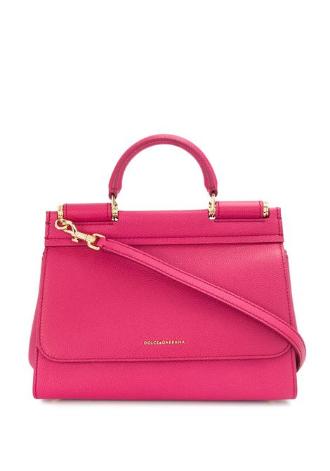 Strawberry calf leather Miss Sicily tote bag DOLCE & GABBANA |  | BB6755-AA40987392