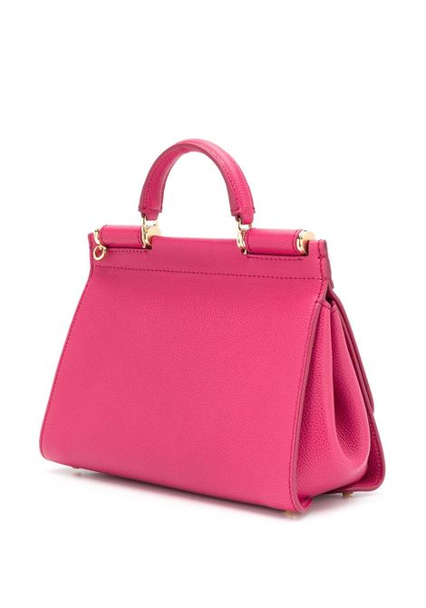 Miss Sicily in pelle di vitello color fragola DOLCE & GABBANA | Borsa | BB6755-AA40987392