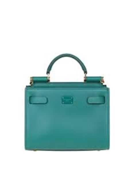 emerald green calf leather Sicily 62 tote bag DOLCE & GABBANA |  | BB6836-AV3858H544