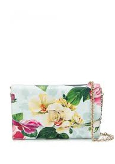 cross-body dauphine calf leather floral print bag DOLCE & GABBANA |  | BI1275-AJ866HC1AM
