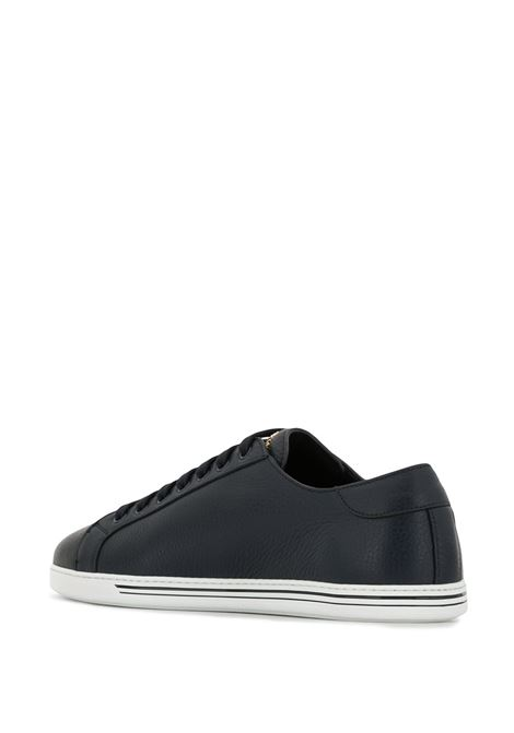 St.Tropez sneakers in navy deer leather and white rubber sole DOLCE & GABBANA |  | CS1735-A8L378H665