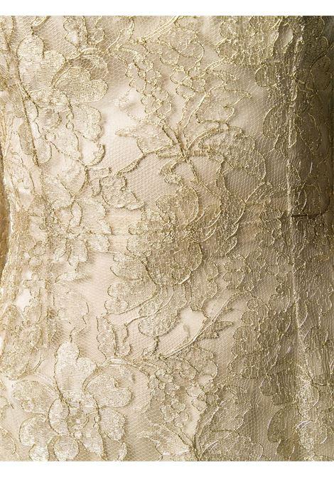 gold tone floral lace short dress DOLCE & GABBANA |  | F6H8BT-HLM02S0997