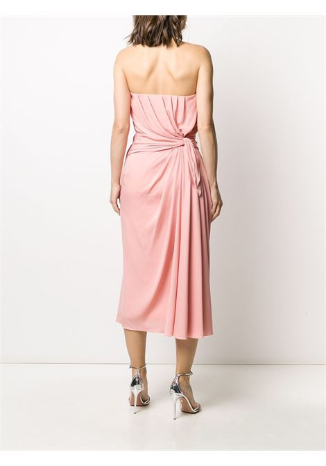 pink sweetheart neckline silk dress DOLCE & GABBANA |  | F6H8LT-FUABFF2528