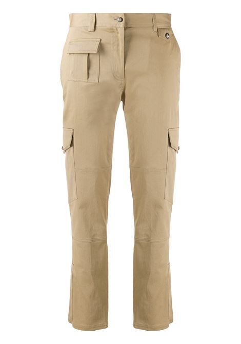 pantalone cargo in cotone beige DOLCE & GABBANA | Pantaloni | FTBRPT-FUFGAM0868