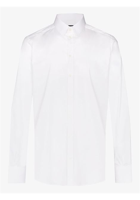 camicia formale bianca in cotone DOLCE & GABBANA | Camicie | G5EJ0T-FUMRYW0800