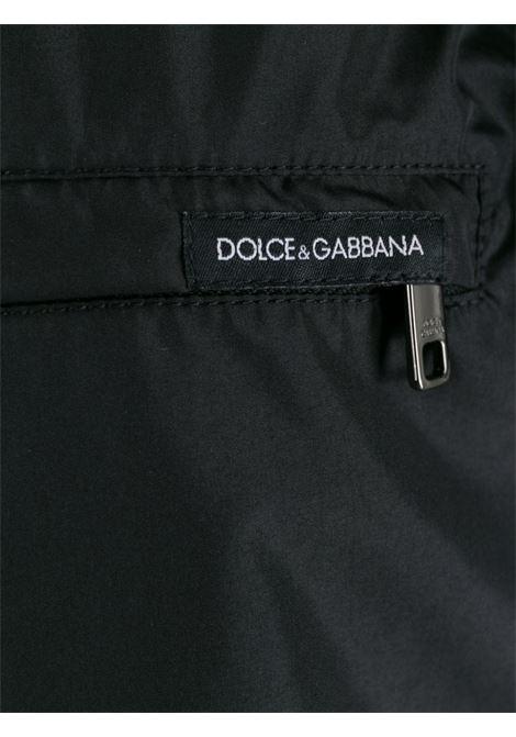 costume boxer nero con banda laterale DOLCE & GABBANA | Costume | M4A68T-FUSFWN0000