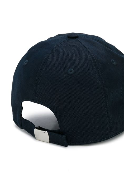 navy blu baseball cap with white front 11TY printed logo ELEVENTY |  | 979CAP047-CAP2700111