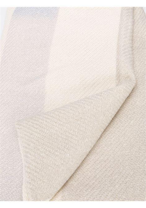 plaid beige /grigio / blu in lino crochet ELEVENTY | Accessori | 979HO0020-HOM25003100