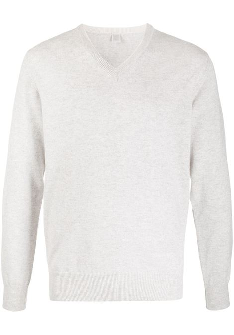 light grey V neck cachemere pullover ELEVENTY |  | 979MA0205-MAG2400613