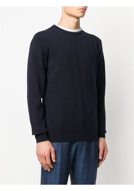 ink blue crew-neck cachemere pullover ELEVENTY |  | 979MA0206-MAG2400611