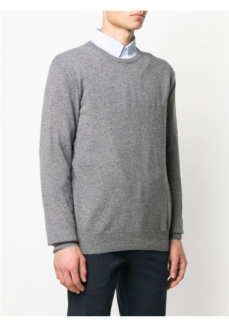 maglioncino girocollo in cachemere grigio scuro ELEVENTY | Maglieria Moda | 979MA0206-MAG2400614