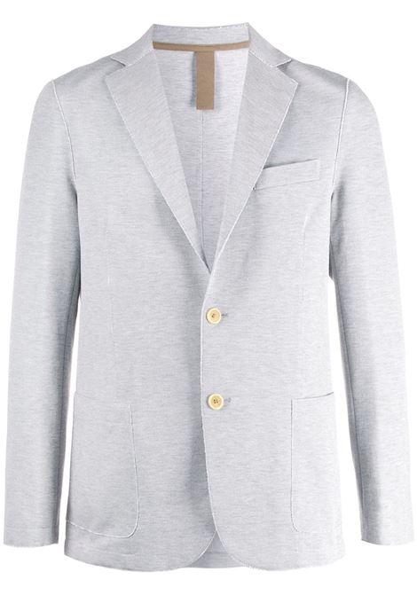 ice grey cotton single-breasted blazer ELEVENTY |  | A70GIAA01-JAC2302113