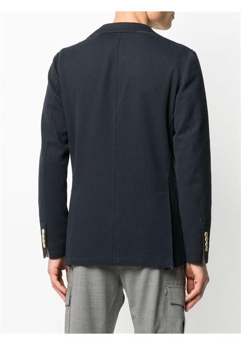 dark blue single-breasted cotton blazer ELEVENTY |  | A70GIAA01-JAC2500111S