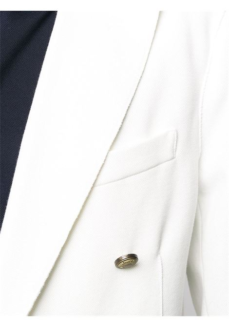white cotton double-breasted blazer ELEVENTY |  | A70GIAA02-JAC2500101